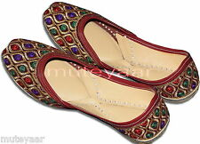 Designer Embroidery Hand Made Punjabi Jutti Shoes Casual Daily Party Wear PJ9749