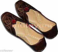 Designer Embroidery Hand Made Punjabi Jutti Shoes Casual Daily Party Wear PJ9752