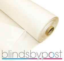 Curtain & Roman Blind Lining - Blackout, Twill, Thermal, Sateen, Bonded, Chromax