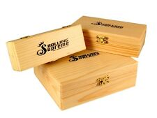Raw/Rolling Supreme storage wooden rolling boxes in many sizes by etrendz