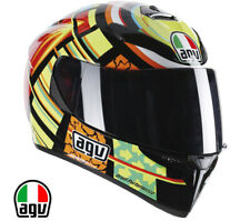 Casco agv k-3 sv Valentino Rossi Elements integrale moto gp replica