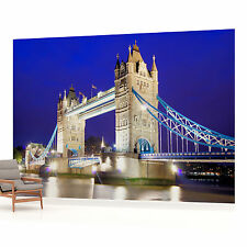 VLIES FOTOTAPETE FOTOTAPETEN WANDBILD BILD TAPETE 172VEVE Tower Bridge London