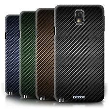 STUFF4 Phone Case/Cover for Samsung Galaxy Note 3 /Carbon Fibre Effect/Pattern