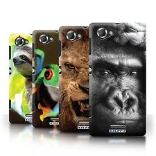 STUFF4 Phone Case/Back Cover for Sony Xperia L/C2105 /Wildlife Animals