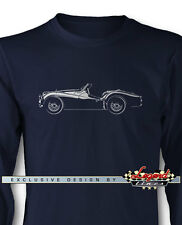 Triumph TR2 TR3 Convertible Roadster Long Sleeves T-Shirt - Multi Colors & Sizes