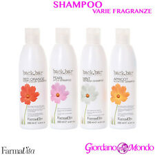 SHAMPOO CAPELLI SECCHI TRATTATI COLORATI BACK BAR FARMAVITA 250ml PROFESSIONALE