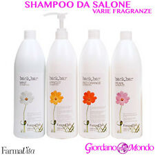 SHAMPOO CAPELLI SECCHI TRATTATI COLORATI BACK BAR FARMAVITA 1000ml PROFESSIONALE