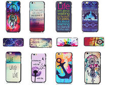 Fashion Hard + Gel Back Case for Apple iPhone 6 6S 6 plus Pattern iPhone Cover