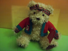 Hallmark MERRILY Christmas Teddy Bear Plush 11