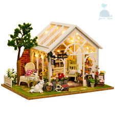 DIY Handcraft Miniature Wooden Project My Secret Little Greenhouse Dolls House