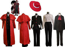 Hellsing Alucard Vampire Hunter Party Cosplay Costume Horror  EXPRESS Delivery