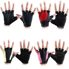 Weight Lifting Gym Fitness Bodybuilding Gel Gloves Training Cycling Fingerless