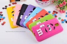 Latest 3D Cute Design Silicon Back Case Cover For Samsung galaxy Note 3 N9000