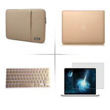 """POFOKO Sleeve carry bag Hard case For Apple macbook Air Pro White 11.6 13 15"""""""