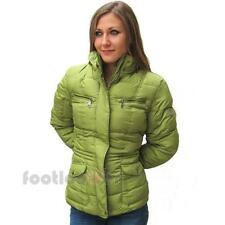 Geox Damen Casual Jacken Fashion Sport W4428A F3203 Grun Winterjacke Moda