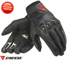 Dainese Mig C2 leather gloves black moto scooter