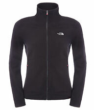 The North Face Womens 200 Shadow Fleecejacke, schwarz