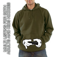 Mickey Hands Gamer Hoodie / Hooded Sweatshirt (For Xbox, Playstation Lovers)