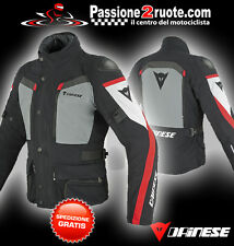 Giacca Dainese Carve Master Goretex nero castle-rock rosso moto jacket