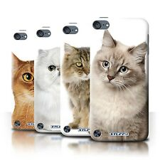 STUFF4 Phone Case/Back Cover for Apple iPod Touch 5 /Cat Breeds
