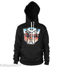 TRANSFORMERS Autobot Shield  hooded sweat-shirt cotton officially licensed