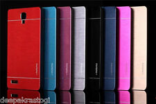 Premium Brushed Metal Back Cover Metal MOTOMO Back Cover For Xiaomi Redmi NOTE