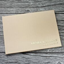 Personlised gold satin wedding guest book - A5 landscape