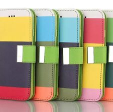 4 Colors Wallet Pocket PU Leather Case Cover Protector Flip For iPhone 6 & Plus