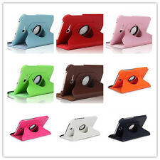 Rotating Leather Case Cover Samsung Galaxy Tab 3 Lite T110 T111 Pro 8.4 T320T325
