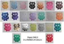 OWL Paper Owl Punches! MULTI LISTING! Packs of 30