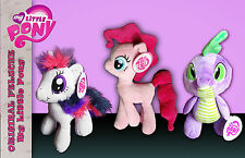 my little pony pinkie pie rosa twilight sparkle viola spike drago peluche new