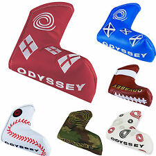 ODYSSEY PUTTER COVER ** NEW 2016 RANGE ** ODYSSEY BLADE PUTTER HEADCOVER GOLF