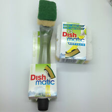 Dish Matic Refills Scourer Steel Sponges Fill & Clean Ideal For Kitchen/Catering