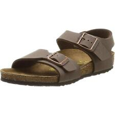 Birkenstock New York Mocca Nubuck Sandals