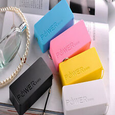 External Portable 5600mAh USB Power Bank Charger Mobile Phone iPhone Samsung HTC