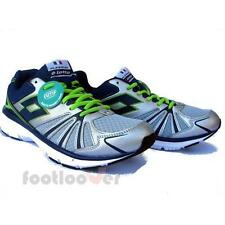 Scarpe Lotto Flyzone V Plus I R8131 Uomo Sneakers Memory Running Silver Navy IT