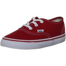 Vans Authentic Red Textile Casual Shoes
