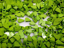 LEGO 3040 - GREEN Slope Roof Tile 1X2 / 45 D. Angle -     10, 25 Or 50 Pieces