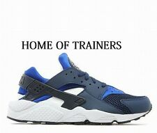 Exclusive Nike Air Huarache Men's Trainers Obsidian Blue/Black/White All Sizes