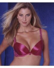 da0f963cd0095 Splendour Magenta Hot Pink Classic Push Up Plunge Bra 32A 34B 34C 38D + RRP£
