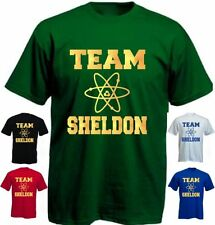Kinder TEAM SHELDON - big bang theory - BBT- Fun Shirt-104-164 KIDS Children(2)