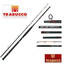 TRABUCCO CANNA MAXXIS MONSTER SILURO STORIONE DUE PEZZI MT 2.10 2.40 GR. 150 300