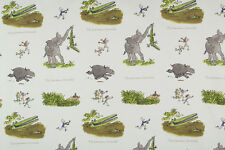 Ashley Wilde Roald Dahl Enormous Crocodile 100% Cotton Print Curtain Fabric