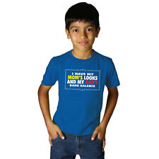 Kids Branded Summer Fashion Cotton Tantra Bank Balance Crew Neck T-shirts