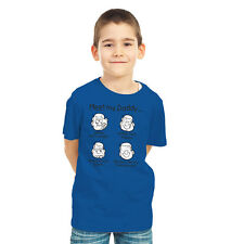 Kids Summer 100% Cotton Branded Tantra Meet My Daddy Printed Round Neck T shirts
