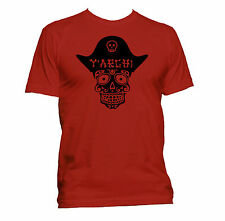 Pirate Skull. Original. Premium ringspun Mens T-shirt. All colours and sizes