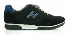 HOGAN INTERACTIVE Scarpe uomo new H198 H FLOCK SHOES herrenshuhe 100% AUTENT. m1