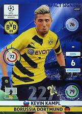 PANINI UEFA CL 14-15 - UPDATE EDITION - IMPACT SIGNING # UE085 - UE092 - TOPMINT