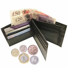Luxury quality soft real leather purse wallet credit card money coins bag pocket