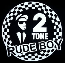 T-Shirt - 2 Tone Rude Boy*ska*rocksteady*Specials*Madness*Selector Sizes S - 5XL